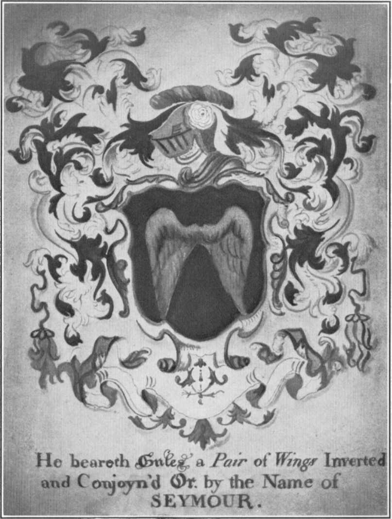 Arms displayed in the home of Thomas Seymour (1735-1829), the First Mayor of Hartford