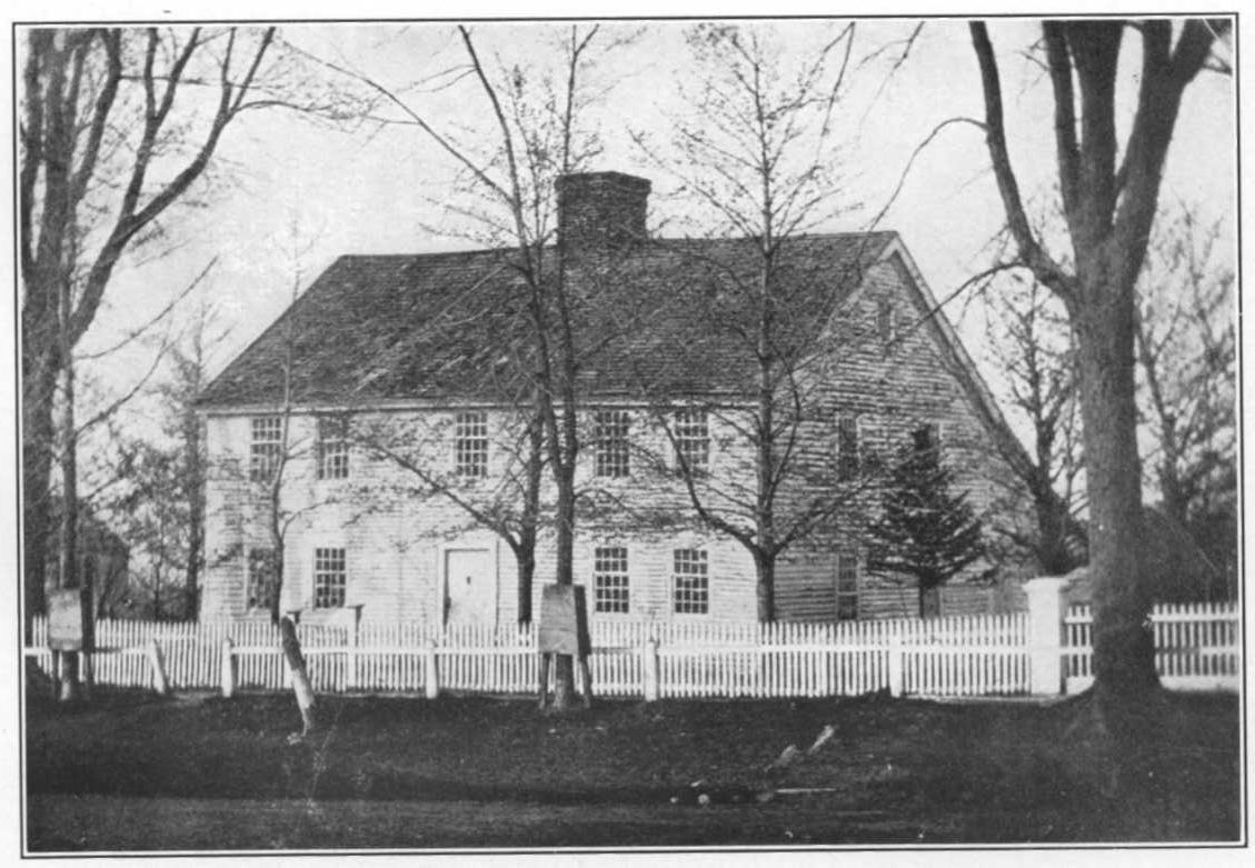 The Old Seymour Homestead, Litchfield, from a daguerreotype