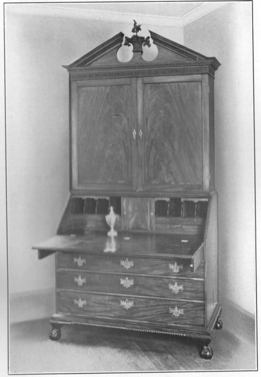 "The First Mayor's ""Mohogany Desk and Book Case"""