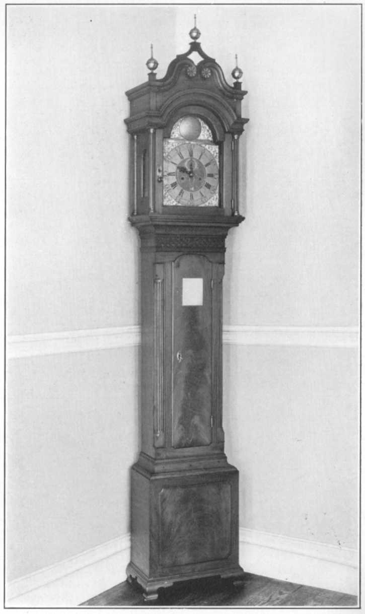 The First Mayor's Tall-case Clock